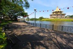 Kuching riverside park , Sarawak, Malaysia Stock Photo