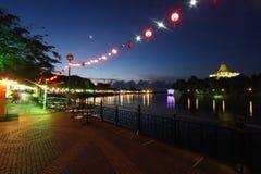 Kuching riverside , Sarawak, Malaysia Stock Photos
