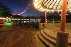 Kuching riverside , Sarawak, Malaysia Royalty Free Stock Photos