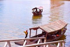 Kuching Sarawak Rzeczny rejs zdjęcia royalty free