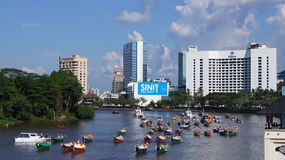 Kuching-Stadt stockfotografie