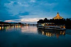 Kuching Waterfront. Evening view of Kuching Waterfront, Sarawak Stock Photography
