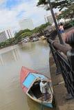 Kuching Waterfront Royalty Free Stock Images