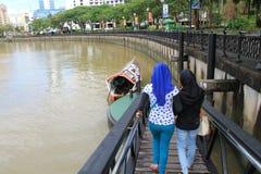 Kuching Waterfront Royalty Free Stock Photo