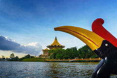 The Kuching Waterfront Stock Photo