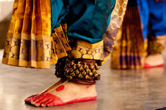 Kuchipudi舞蹈 库存图片
