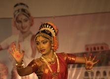 Kuchipudi - The classical Indian dance Royalty Free Stock Images