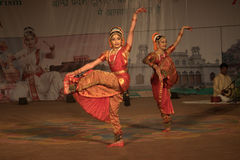 Kuchipudi - The classical Indian dance Stock Photography