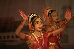 Kuchipudi - a dança indiana clássica Fotos de Stock Royalty Free