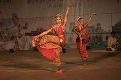 Kuchipudi - a dança indiana clássica Fotografia de Stock