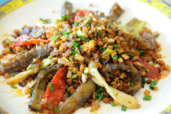 kuchni chiński ogórkowy morze Fotografia Stock