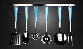 Kuchni narzędzia ilustracja wektor