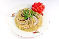 kuchni oberżyny romanian sałatka zdjęcia stock