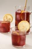 kuchni poncza czerwony sangria spanish wino zdjęcia stock