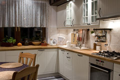 kuchnia Zdjęcia Stock