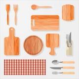 Kuchnia, bar, restauracyjni projektów elementy Zdjęcie Stock