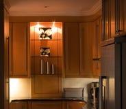 kuchnia bujny w domu Zdjęcia Royalty Free