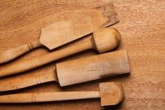 Kuchnia Drewniany naczynie zdjęcia stock