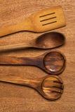 Kuchnia Drewniany naczynie obraz royalty free