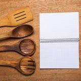 Kuchnia Drewniany naczynie obraz stock