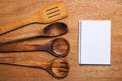 Kuchnia Drewniany naczynie zdjęcie stock