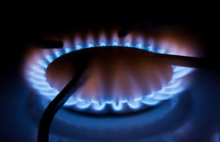 Kuchnia gaz Zdjęcie Royalty Free