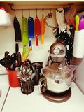 kuchnia kolorowa Zdjęcia Royalty Free