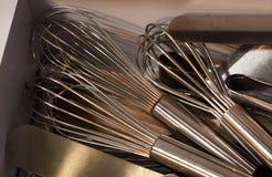 kuchnia kulinarni zestaw narzędzi Obraz Royalty Free