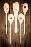 kuchnia narzędzia drewniany fotografia royalty free
