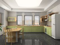 kuchnia nowożytna ilustracja wektor