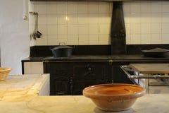 Kuchnia Pedralbes monaster w Barcelona obrazy royalty free