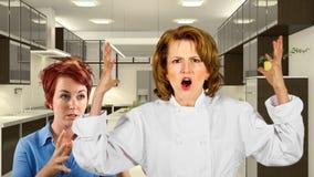 Kuchnia personel Obraz Royalty Free