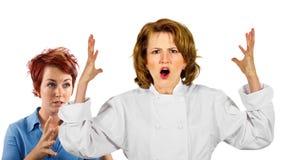 Kuchnia personel Zdjęcia Stock