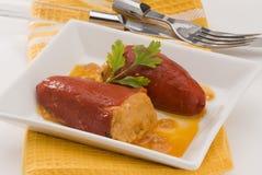 kuchnia pieprzy spanish faszerujących obrazy royalty free