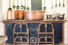 kuchnia retro Zdjęcia Royalty Free