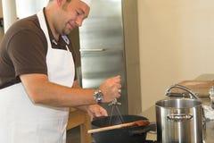kuchnia szefa kuchni zdjęcie royalty free