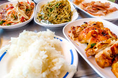 kuchnia tajska Fotografia Royalty Free