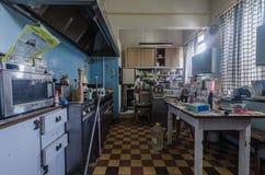 Kuchnia w hotelu obrazy stock