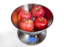 Kuchnia Waży z Czerwonymi jabłkami Obraz Royalty Free