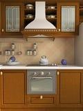 kuchnia wewnętrzna Zdjęcie Stock
