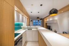 kuchnia wewnętrzna Fotografia Stock