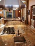kuchnia wewnętrznej w domu Obrazy Royalty Free