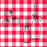 kuchnia wzór Obrazy Stock
