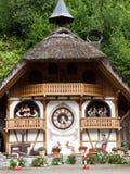 Kuckucksuhr-Haus in Hornberg Stockfoto