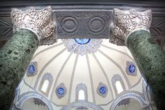 Kucuk Aya Sofya, a antiga igreja de Saint Sergius e Baco em Istambul fotografia de stock