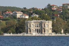 Kucuksu宫殿在伊斯坦布尔市,土耳其 库存图片
