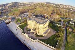 KUCUKSU KASRI in Istanbul. Aerial Stock Photography