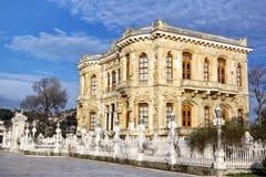 Kucuksu Kasri - Sultans Mansion. Pavilion built by Sultan Abdulmecit in 19th century. Bosporus, Istanbul Royalty Free Stock Image