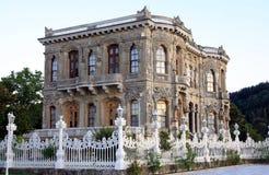 Kucuksu Palace in istanbul. A view of Kucuksu Palace in istanbul, Turkey Royalty Free Stock Photos