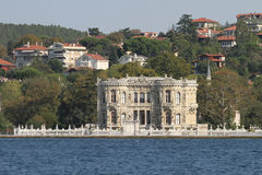 Kucuksu Palace in Istanbul City, Turkey Stock Image